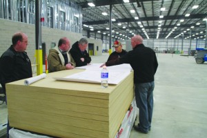 At the Sully Betterment Committee meeting Thursday evening, Mar. 5, the members present toured the new Janco Industries building in the business park on the west side of Sully. Above, Joel Jansen (right) uses blueprints to explain the work flow at the new location to Betterment members,...  </div> <a href=