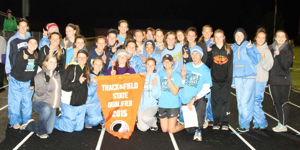 Girls state qualifying meet champs