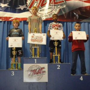Maxwell Mintle earned a spot on the podium and earned All-American status after coming in third at the Midwest Classic Nationals in Kearney, NE, over the Apr. 2-3 weekend.