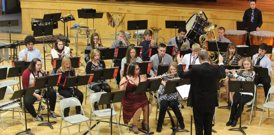 L-S musicians wow the crowd at winter concert