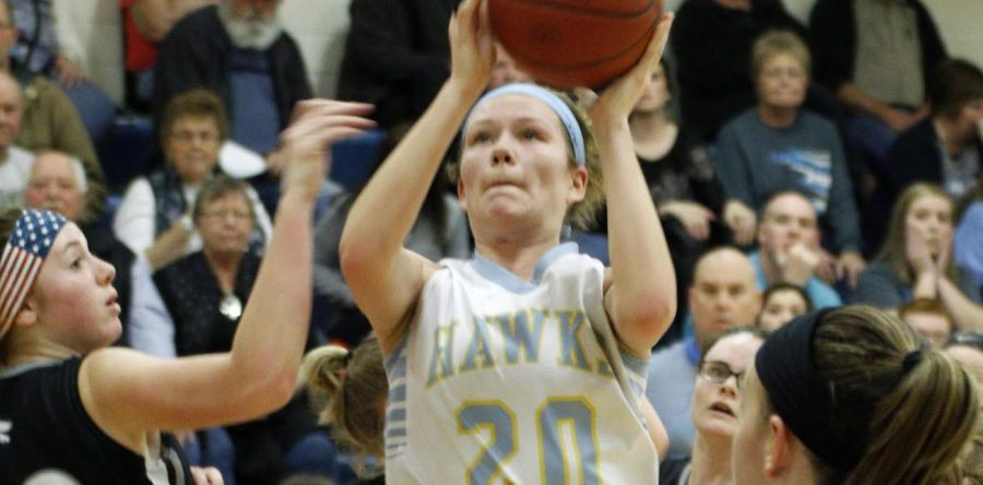 Lanser nets 1,000th point in final game as L-S Hawk