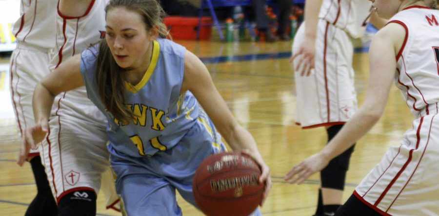 L-S girls 'battled to the end' versus No. 6 team