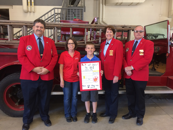 Local fourth grader wins statewide poster contest