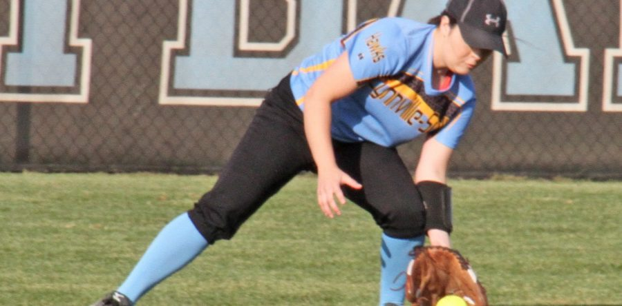 Hawk softball picks up first win, falls to Montezuma, Pella