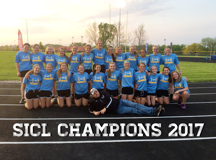 JH track season concludes, girls win conference title
