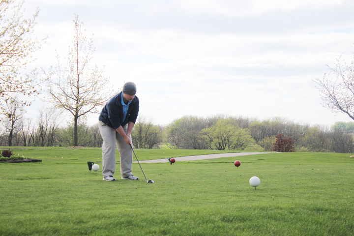 L-S boys golf falls to Keota, looks to improve short game