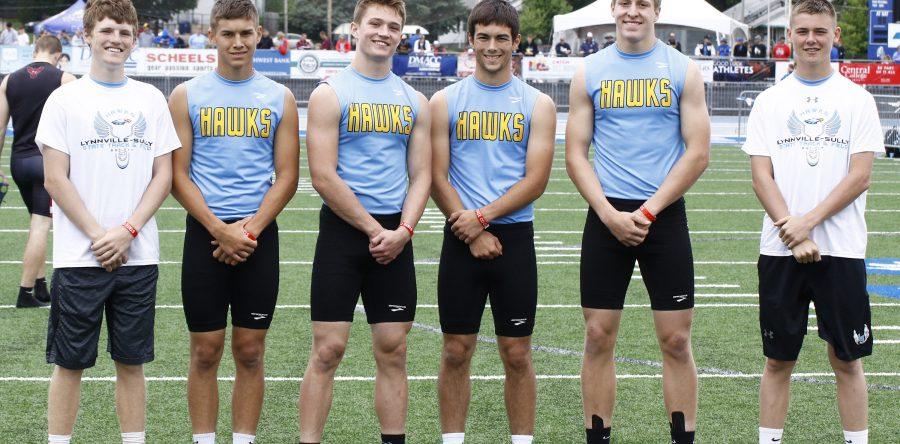 L-S track teams set three new school records at state meet