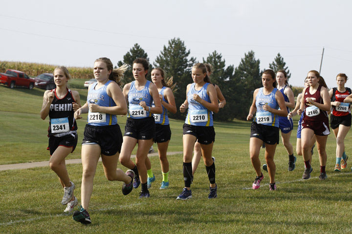 Boys XC fields full team, girls earn fourth at home