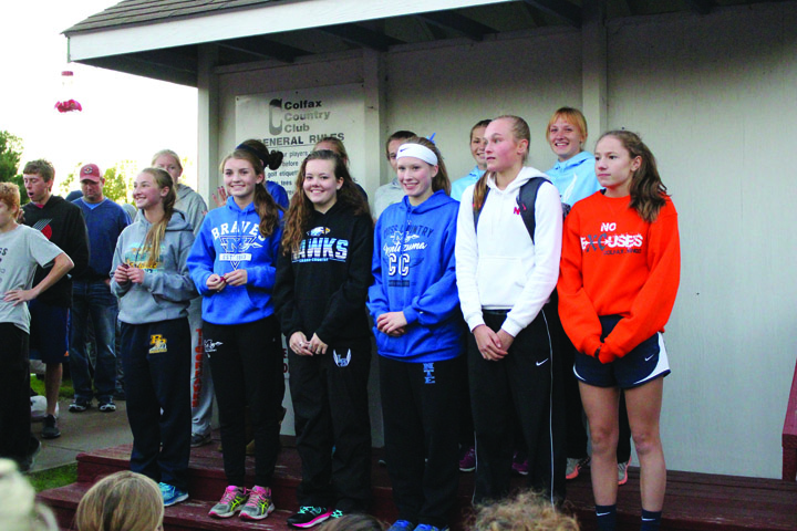 L-S girls one point shy of first at SICL XC meet