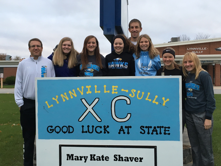 Shaver's XC career concludes taking 67th at state