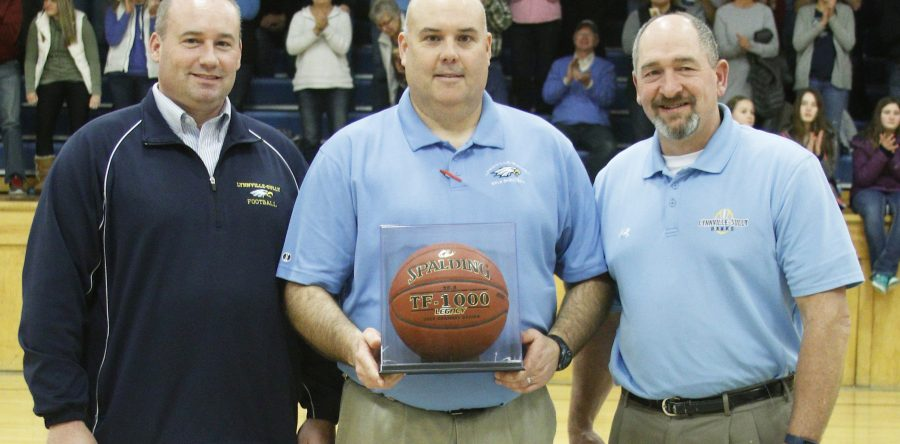 Lynnville-Sully's Jerry Hulsing 2018 recipient of IGHSAU Basketball Golden Plaque Award