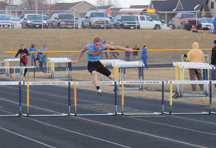 L-S boys win chilly outdoor opener at Belle Plaine