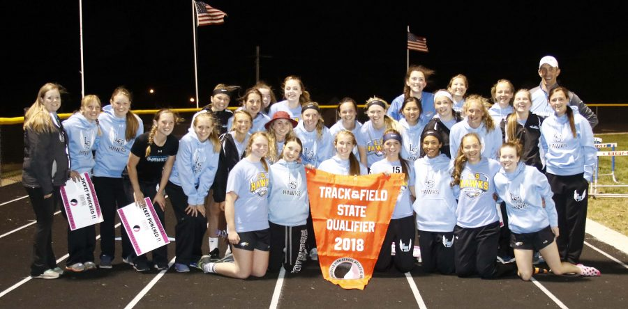 District champs: Nine L-S girls are state bound