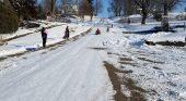 Locals get first taste of winter