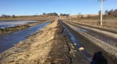 Spring thaw contributes to flooding, deteriorating roads