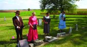 Lynnville Historical Society's cemetery walk Sunday