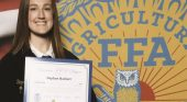 Hackert awarded National American FFA Degree