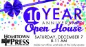 Come celebrate with us: Hometown Press hits milestone anniversary