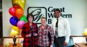 Great Western Bank's Valerie Rolffs awarded for commitment, dedication