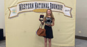 Egging sets individual record at national competition