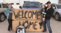 Community rallies for special welcome home