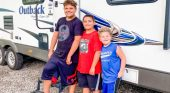 Free camping weekend serves as a new memory maker for the Agan family