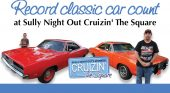 Record classic car count at Sully Night Out Cruizin' The Square