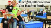 Over $220,000 raised for Van Haaften family