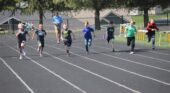 Fun under the sun at track and field day