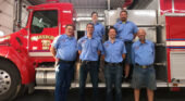 We Salute our Fire Departments